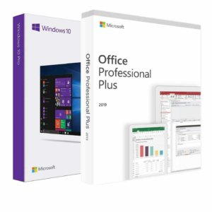 Windows 10 Professional + Office 2019 Professional Plus